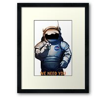 Nasa - A Journey To Mars Framed Print