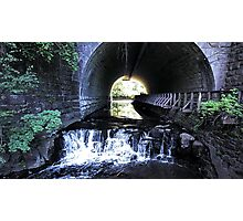 The Light at the End of the Tunnel Photographic Print