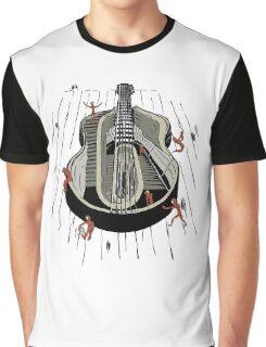 Wooden Man Graphic T-Shirt