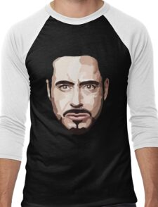 Robert Downey Jr Men's Baseball ¾ T-Shirt