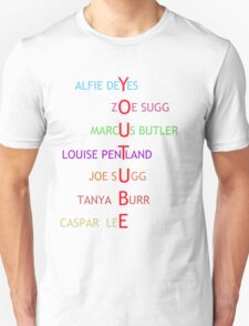 British Youtubers Unisex T-Shirt