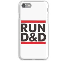 run dungeons and dragon iPhone Case/Skin
