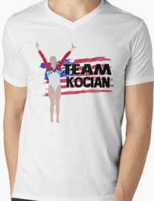 Team Madison Kocian -  USA  (Olympic)  Mens V-Neck T-Shirt