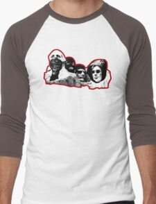 Stone Cold Thugs (Red) Men's Baseball ¾ T-Shirt