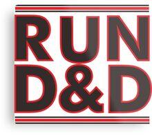 Run dungeons and Dragons Metal Print