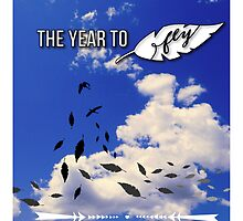 The Year To Fly by rainyvaleria