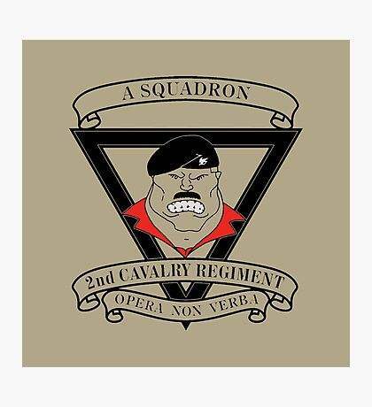 A Squadron 2nd Cavalry Regiment Photographic Print