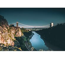 Clifton Suspension Photographic Print