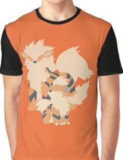 Growlithe Evolution Graphic T-Shirt