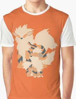 Growlithe Evolution Graphic T-Shirt