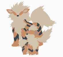 Growlithe Evolution Baby Tee