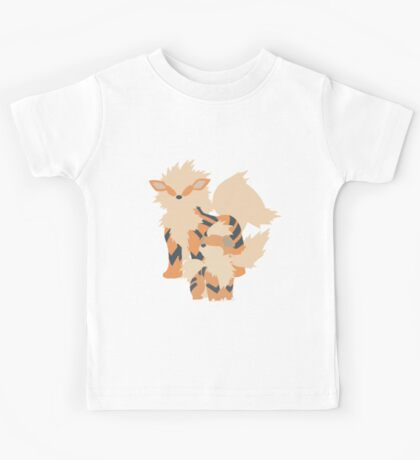 Growlithe Evolution Kids Tee