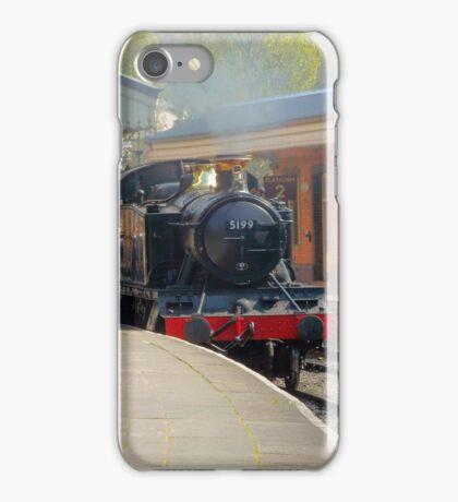 Llangollen 5199 Steam train iPhone Case/Skin