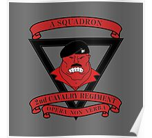 A Squadron 2nd Cavalry Regiment Poster