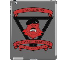 A Squadron 2nd Cavalry Regiment iPad Case/Skin