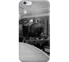 Llangollen 5199 Steam Train B&W iPhone Case/Skin