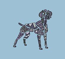 Cool Artistic Weimaraner Dog Art Unisex T-Shirt