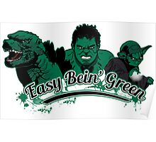 Easy Bein' Green Poster