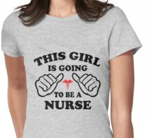 Nursing Student Womens Fitted T-Shirt