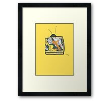 Say Know to drugs. Framed Print