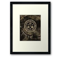 Hero's Mark (Brown) Framed Print