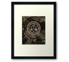 Hero's Mark (Brown) Framed Print