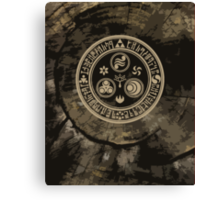 Hero's Mark (Brown) Canvas Print