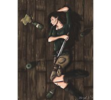 Passed Out Drunk- Elf Photographic Print