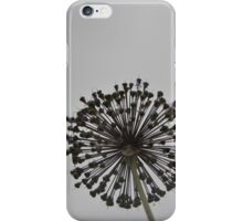Black Allium iPhone Case/Skin