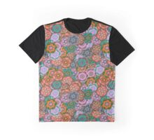 Floral Riot - Earth Lilac Graphic T-Shirt