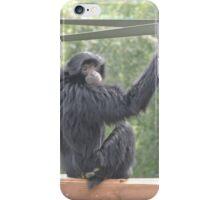 Swinging Siamang iPhone Case/Skin