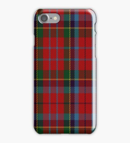 01353 Caledonia #3 Fashion Tartan  iPhone Case/Skin