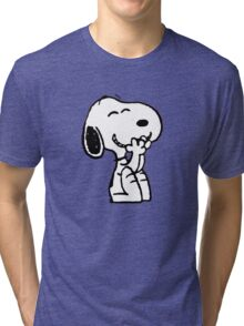 Little dog Tri-blend T-Shirt