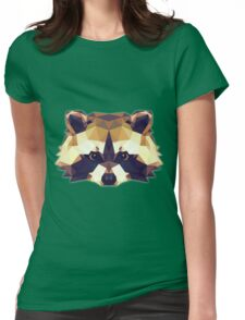 T-shirt Raccoon Womens Fitted T-Shirt