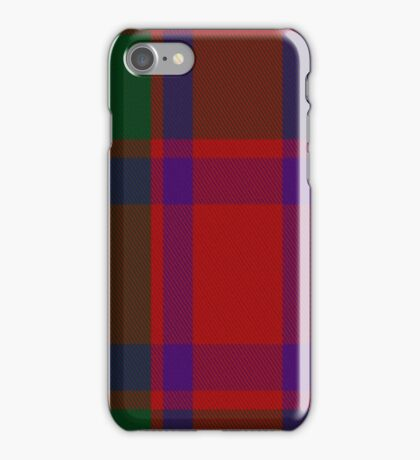 01350 Caledonian Fashion Tartan  iPhone Case/Skin
