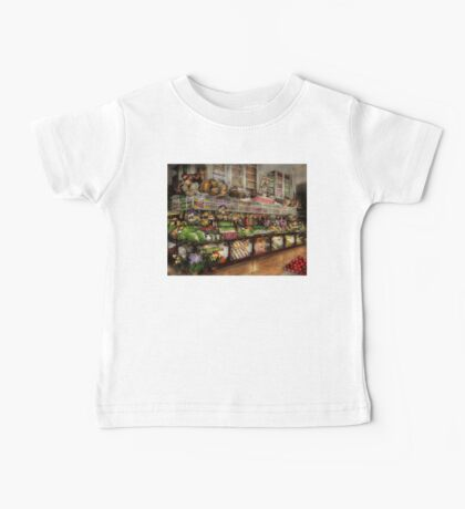 Grocery - Edward Neuman - The produce section 1905 Baby Tee