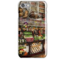 Grocery - Edward Neuman - The produce section 1905 iPhone Case/Skin