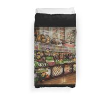 Grocery - Edward Neuman - The produce section 1905 Duvet Cover