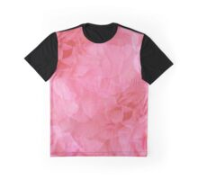 Girly Dreamy Soft Romantic Pink Rose Collage  Graphic T-Shirt