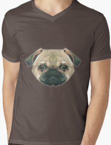 T-shirt Dog Mens V-Neck T-Shirt