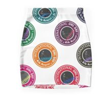 Polka Dot Stamps- I support the International Owl Day - 4th August Mini Skirt