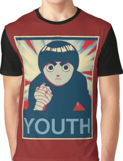 Rock Lee Youth poster Graphic T-Shirt