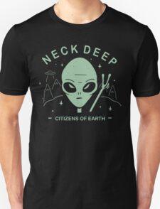 Neck Deep Citizens of Earth Unisex T-Shirt
