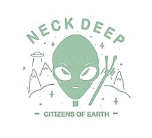 Neck Deep Citizens of Earth Photographic Print