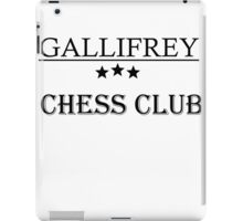 chess club iPad Case/Skin