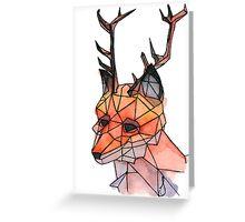Foxalope Greeting Card