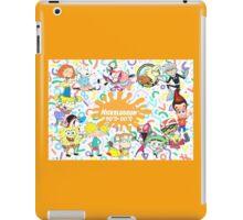 Nickalodeon 90s-00s iPad Case/Skin