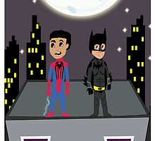 Troy and Abed Crime Fighters by ZaneBerry