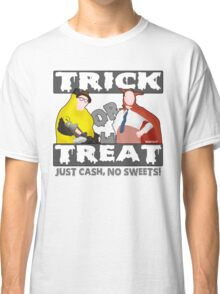 Bottom Halloween 'Trick Or Treat' Design Classic T-Shirt