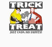 Bottom Halloween 'Trick Or Treat' Design Unisex T-Shirt